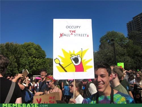 Occupy ALL the Memes!!