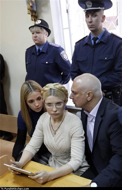 Yulia Tymoshenko Jailed for 7 Years