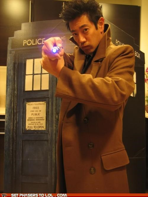 doctor who,grant imahara,mythbusters,sonic screwdriver,tardis,UNF