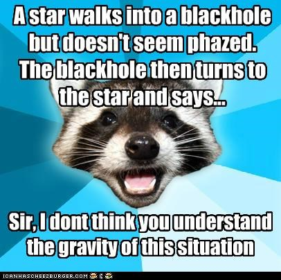 Lame Pun Coon: Science Warps Minds, Sistah