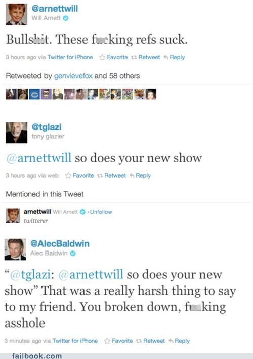Alec Baldwin Defends Will Arnett