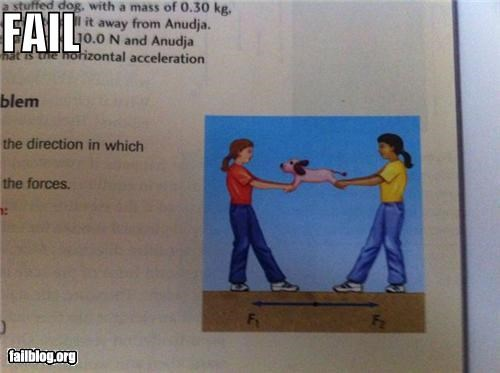 Physics Example FAIL