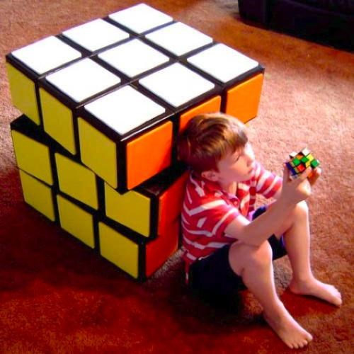 Rubik's Cube Drawers of the Day