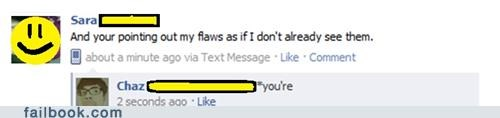 flaws,irony,spelling