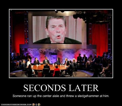 debate,election 2012,GOP,political pictures,Ronald Reagan