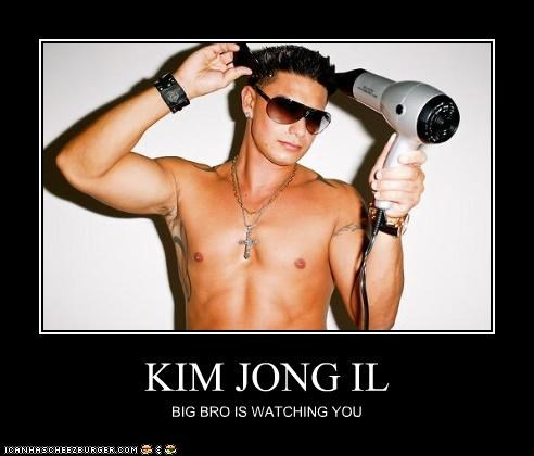 Kim Jong Il's been GTL'ing a lot lately