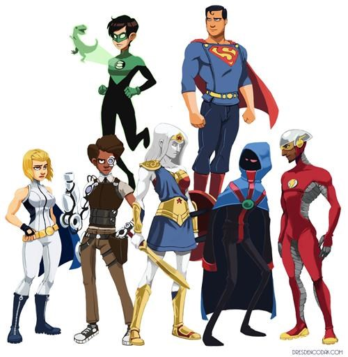 Redesigned Justice League of the Day