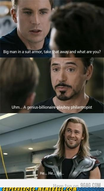 Thor Laughs So Creepily...