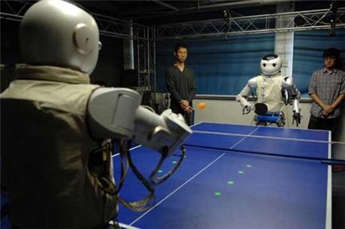 Ping-Pong Playing Robots of the Day