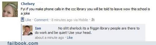 fyi,library,phone,really,rude