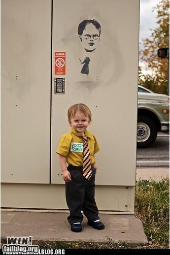 costume,dwight schrute,Hall of Fame,halloween,kid,parenting,parenting WIN,pop culture,television,the office