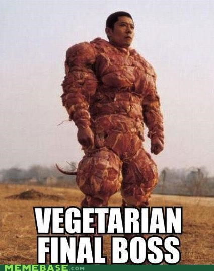 Vegetarians, Meat Your Match
