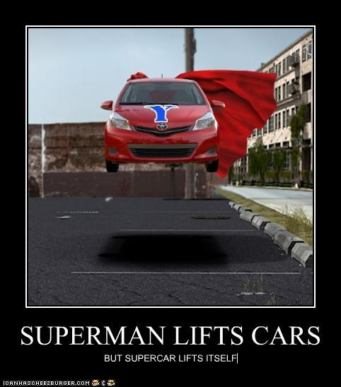 SUPERMAN LIFTS CARS