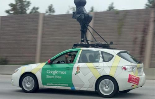 Google Street View Shenanigans of the Day