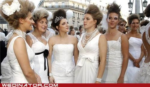 A Bevy of Brides