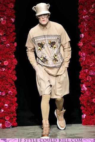 Hot Guys Dumb Clothes: Givenchy Fall/Winter 2011
