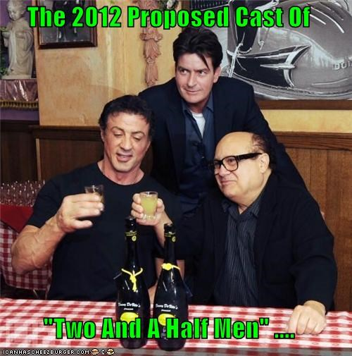 "The 2012 Proposed Cast Of  ""Two And A Half Men"" ...."
