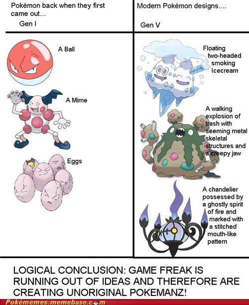 Remember When Pokémon Designs Were Original?