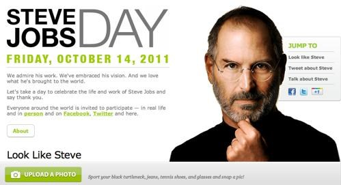 Steve Jobs Day of the Day