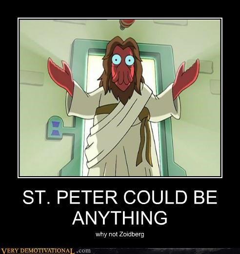 ST. PETER COULD BE ANYTHING