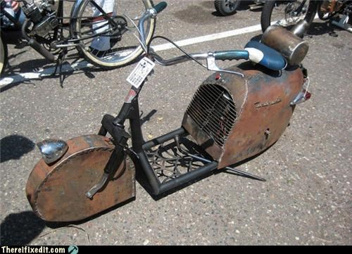 bicycle,recycle,rust,wtf