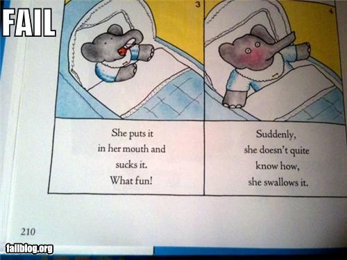 Children's Story FAIL