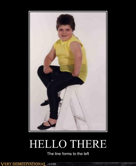 hello there,hilarious,kid,line forms,sexy