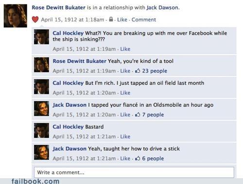 Talkin' Ship: Titanic Posts on Facebook