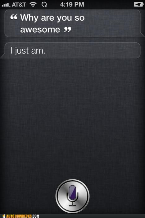 Siri Has Good Days and Bad Days