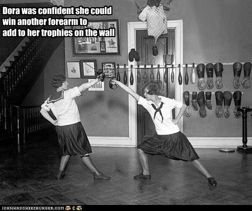 funny,historic lols,ladies,Photo,sports,weapons