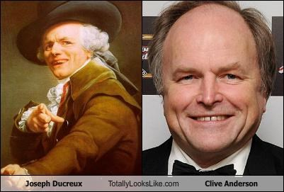 Joseph Ducreux Totally Looks Like Clive Anderson
