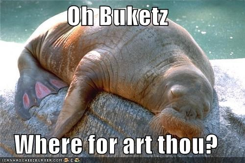 Oh Buketz  Where for art thou?
