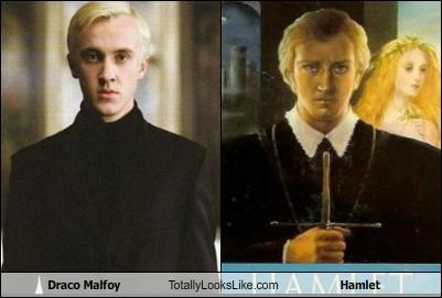 Draco Malfoy Totally Looks Like Hamlet