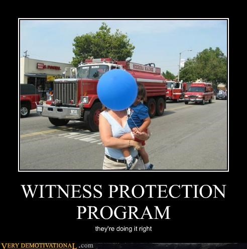 WITNESS PROTECTION PROGRAM