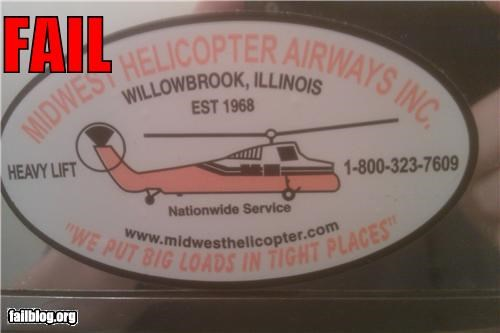 Helicopter Motto FAIL