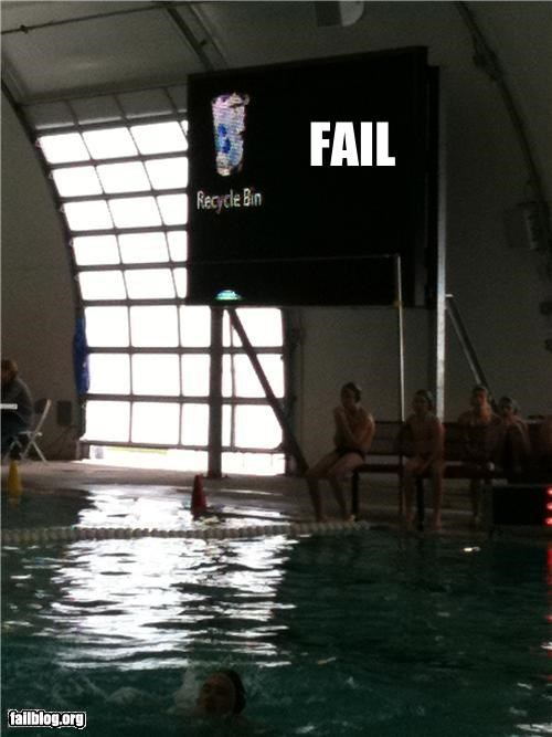 Water Polo Scoreboard FAIL