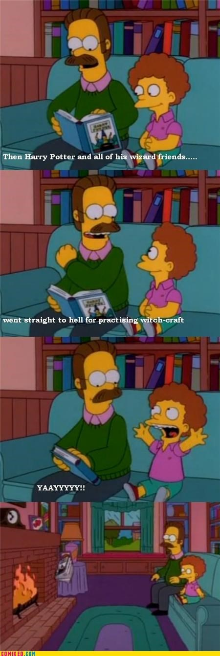 Harry Potter According to Flanders