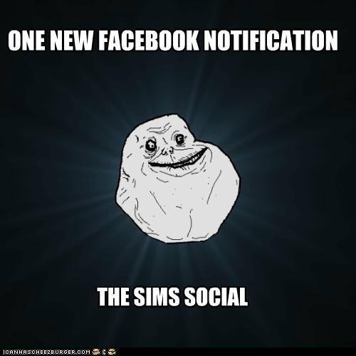 ONE NEW FACEBOOK NOTIFICATION