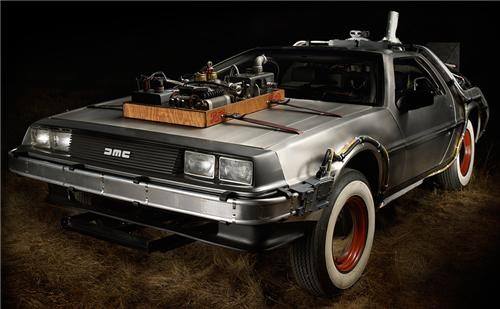 Delorean Time Machine for Sale of the Day