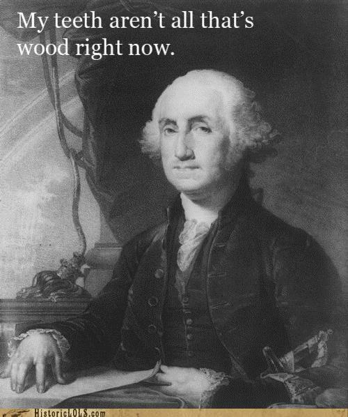 Damn, George Washington! You Nasty!