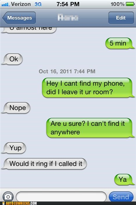 lost,lost phone,obvious