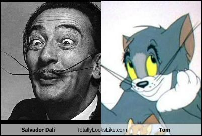 Salvador Dali Totally Looks Like Tom