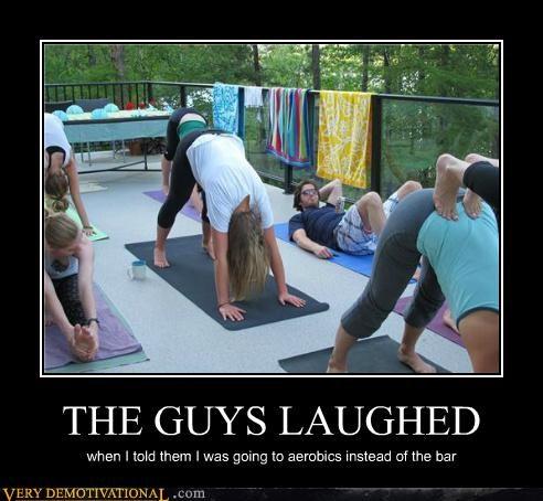 aerobics,bar,dude,Pure Awesome,yoga