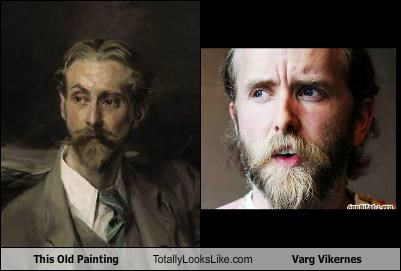 This Old Painting Totally Looks Like Varg Vikernes