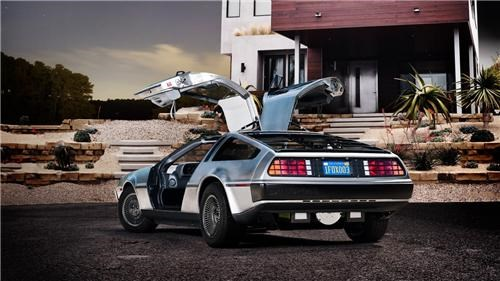 Electric DeLorean of the Day