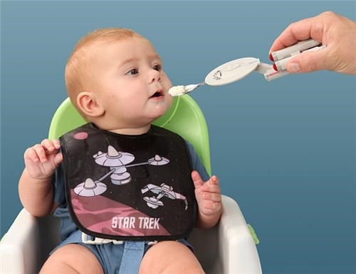 Starship Enterprise Baby Spoon of the Day