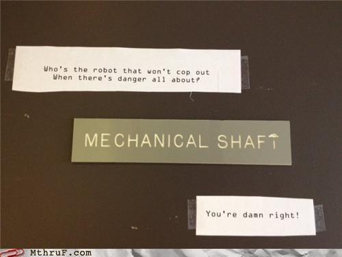 70s,engineering,funky,pun,shaft,sign