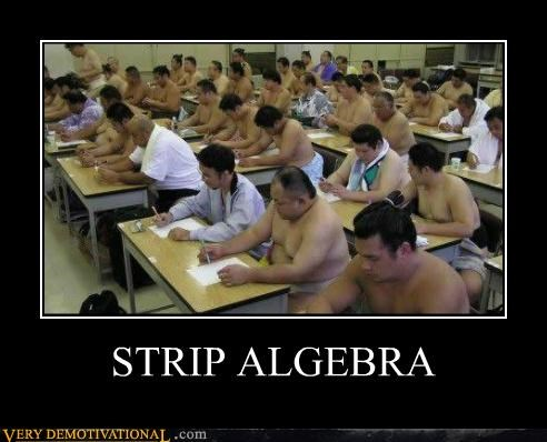 STRIP ALGEBRA