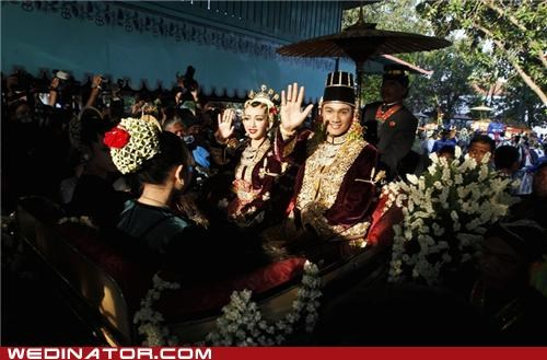 Indonesia Gets the Royal Wedding Treatment