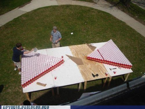 Okay, Just One Round Of Beer Pong, But Then I've Gotta Go To Class